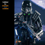 Hot Toys Star Wars DEATHTROOPER SPECIALIST 1/6th Scale Collectible Figure MMS385- MINT