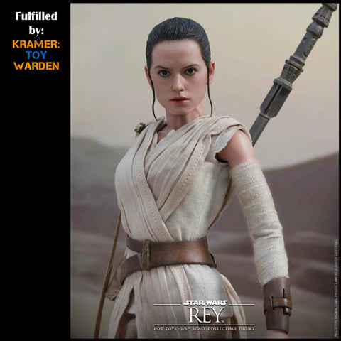 Hot Toys Star Wars SCAVENGER REY 1/6th Scale Collectible Figure MMS336 - MINT