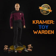Star Trek: TNG: Captain Jean-Luc Picard 1:6th Scale Figure: Exclusive Edition