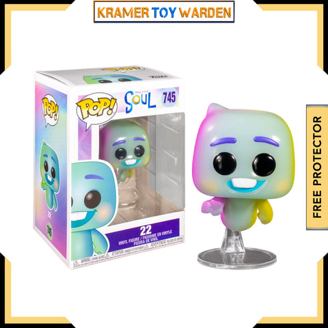 Pixar Soul 22 Pop! Vinyl Figure # 745
