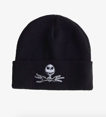 Nightmare Before Christmas Jack Skellington Tie Beanie