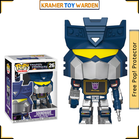 Transformers Soundwave Funko Pop! #26