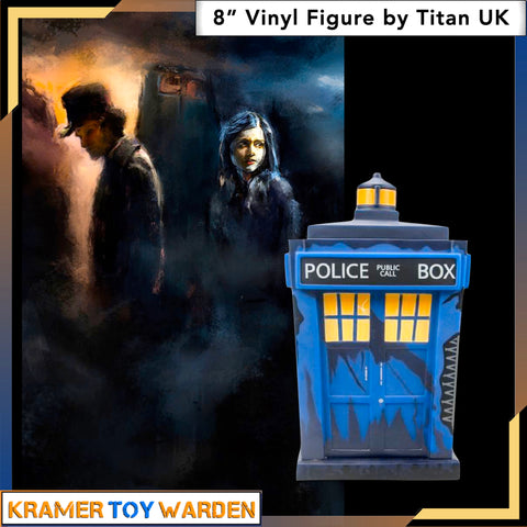 Doctor Who Trenzalore Tardis 8-Inch Vinyl Figure by Titan UK