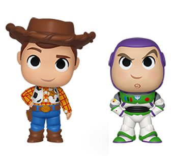 Toy Story 4 Mystery Minis Buzz and Woody Loose