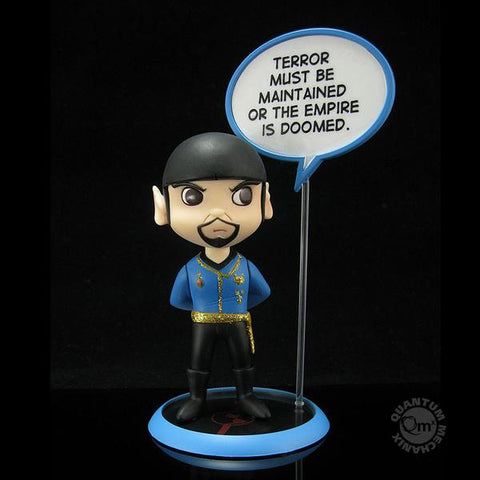 Star Trek Trekkies Q-Pop Mirror Universe SPOCK Vinyl Figure