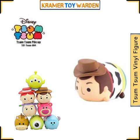 Tsum Tsum Pile up 004  Toy Story WOODY