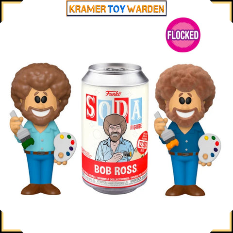 Bob Ross Funko Vinyl Soda with Chance to Get Chase