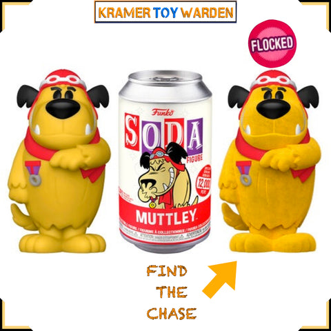 Hanna Barbera Muttley Vinyl Soda with Chance to Get Chase