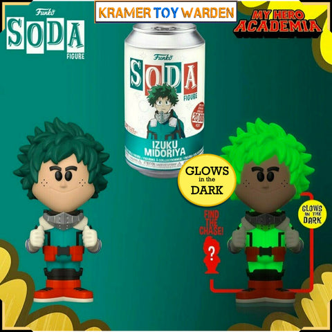 My Hero Academia DEKU Vinyl Soda with Chance to Get Chase