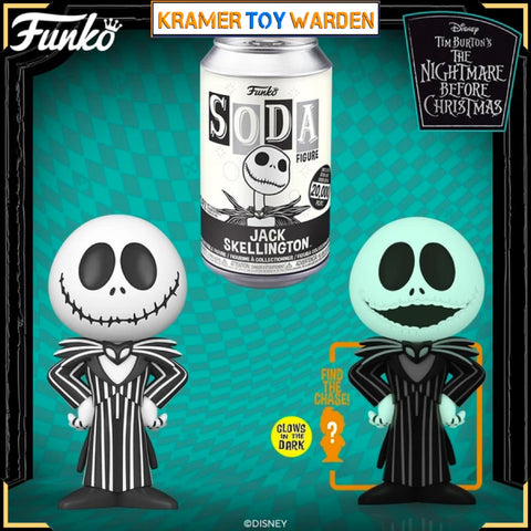 NBX JACK SKELLINGTON Vinyl Soda with Chance to Get Chase