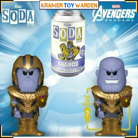 Marvel Thanos  Vinyl Soda with Chance to Get Chase