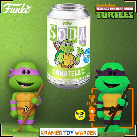 Teenage Mutant Ninja Turtles DONATELLO Vinyl Soda with Chance to Get Chase