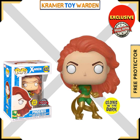 Marvel: X-Men Phoenix Green suit (GW) Exclusive Pop! Vinyl Figure