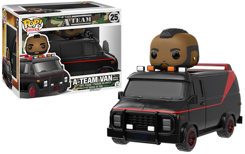 Funko A-Team Van with B.A. Baracus Pop! Vinyl Vehicle Kramer Toy Warden Greenhills, Alabang Mall, Philippines