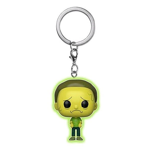 Funko Rick & Morty Toxic Morty Glow in the Dark Pocket Pop! Key Chain Kramer Toy Warden Greenhills, Alabang Mall, Philippines