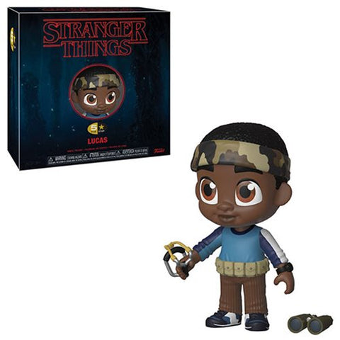 Preorder Stranger Things - Lucas 5 Star Vinyl Figure PO P550