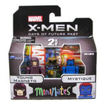 Minimates X-Men: The Days Of Future Past Young Magneto & Mystique 2-Pack