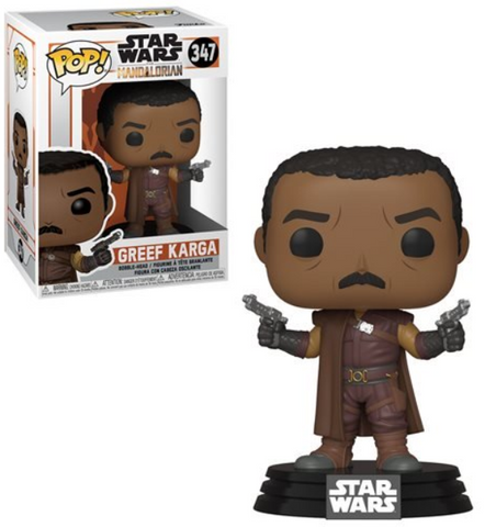 Star Wars: The Mandalorian Greef Karga Pop! Vinyl Figure