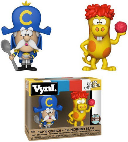 Cap'N Crunch and Crunchberry Beast Specialty Series Vynl Figure