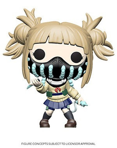 Preorder My Hero Academia Himiko Toga with Face Cover Pop! Vinyl Figure PO P585