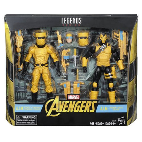 Marvel Legends A.I.M. Scientist and Shock Trooper Action Figures 2-Pack - Exclusive