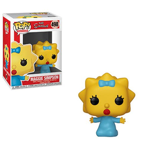 Funko  Animation: Simpsons Series 2 Maggie Pop! Vinyl  Figure PO P550 Kramer Toy Warden Greenhills, Alabang Mall, Philippines