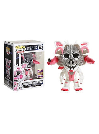 Five Nights at Freddy's Sister Location Jumpscare Funtime Foxy  Pop! Vinyl Figure SCE 2017
