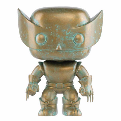 Marvel 80th First Appearance Patina Wolverine Exclusive Pop! Vinyl Figure