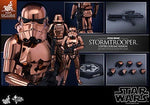 Hot Toys 1:6 Scale Star Wars Stormtrooper Exclusive Copper Chrome version