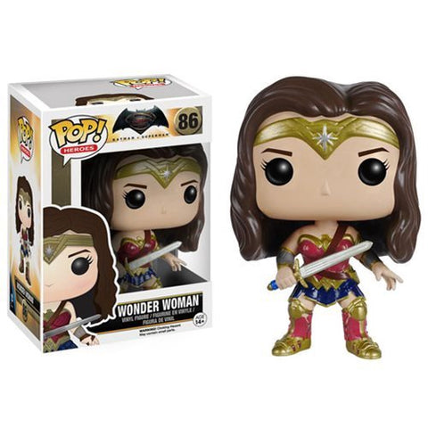 Batman v Superman Wonder Woman Pop! Vinyl Figure