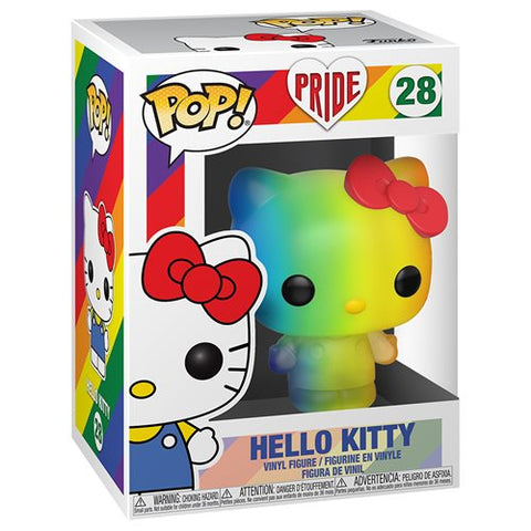 Preorder Hello Kitty Pride 2020 Rainbow Pop! Vinyl Figure PO P550