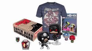 Funko Marvel Collector Corps Super Showdown Pop! Boxset w/ M T-Shirt Kramer Toy Warden Greenhills, Alabang Mall, Philippines