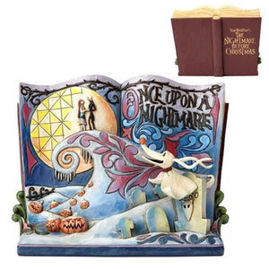Disney Traditions NBX Storybook Statue Diorama