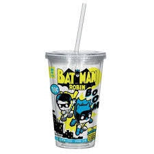 Batman and Robin Comic Travel Cup