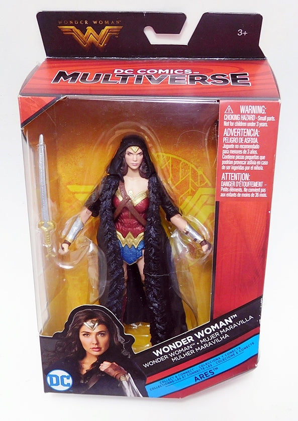 "DC Multiverse 6"" Wonder Woman Ares C&C Series Action Figure"