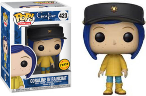 Funko Coraline Coraline in Raincoat CHASE Pop! Vinyl Figure #423 Kramer Toy Warden Greenhills, Alabang Mall, Philippines
