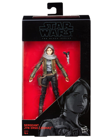 "Star Wars Black Series 6"" Rogue One Jyn Erso action figure"