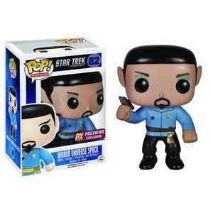 Funko Star Trek Mirror Mirror Spock Pop! Vinyl Figure Previews Ex. Kramer Toy Warden Greenhills, Alabang Mall, Philippines