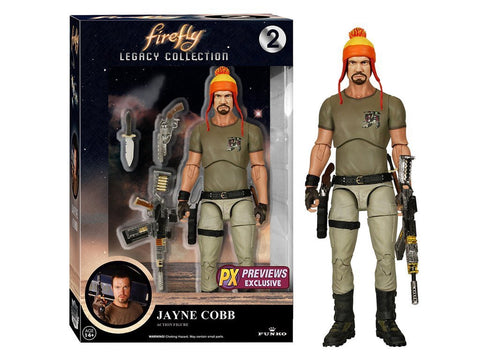 Funko Firefly Legacy Collection Jayne Cobb with Hat PX Exclusive action figure