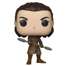 Game of Thrones Arya with Two-Headed Spear S11 Pop! Vinyl Figure Not Mint