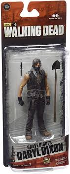 The Walking Dead Grave Digger DaryL Dixon TV Series 7 action figure Not Mint