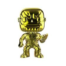Marvel: Infinity War Thanos Yellow Chrome Exclusive Pop! Vinyl Figure