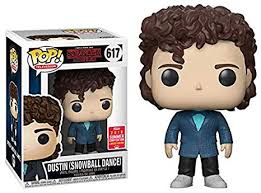 Stranger Things Dustin Snowball Pop! Vinyl Figure Summer Convention Exclusive