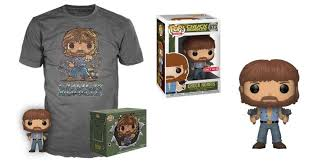 Chuck Norris Target Exclusive Funko Collector Boxset w/ T-Shirt (M)