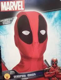 Deadpool Mask With Mesh Eyes