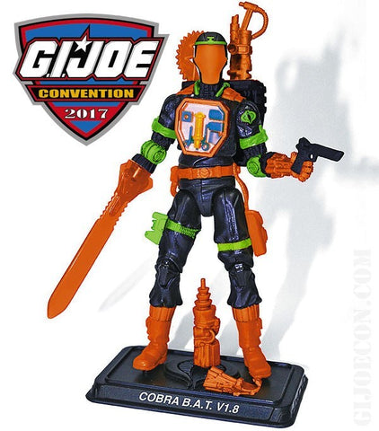 "G.I. Joe 3.75"" Convention 2017 B.A.T. V1.8 Loose"