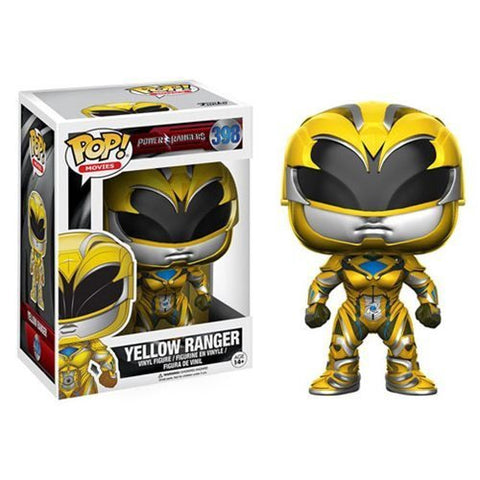 Funko Power Rangers Movie Yellow Ranger Pop! Vinyl Figure Kramer Toy Warden Greenhills, Alabang Mall, Philippines