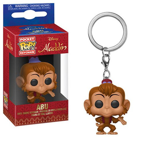 Funko Aladdin - Abu Pocket Pop! Key Chain Kramer Toy Warden Greenhills, Alabang Mall, Philippines