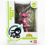 Mighty Morphin Power Rangers Pink Ranger Tamashii Buddies Mini-Statues
