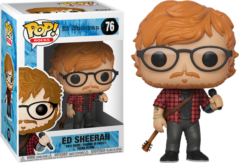 Funko Pop Rocks: Ed Sheeran Pop! Vinyl Figure Kramer Toy Warden Greenhills, Alabang Mall, Philippines